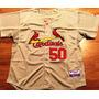 Camisa St. Louis Cardinals Adam Wainwright Majestic Elite