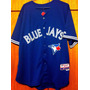 Camisa Do Toronto Blue Jays José Bautista Majestic Elite