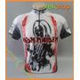Camisa Velotop Iron Maiden Manga Curta Para Ciclismo