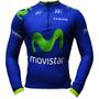 Camisa Ciclismo Manga Longa Ert Movistar (p-m-g-gg-3g)