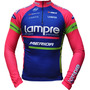Camisa Ciclismo Manga Longa Ert Lampre (p-m-g-gg-3g)