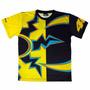 Camiseta Precisport Valentino Rossi New Sol Y Luna