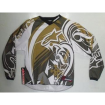 Camisa Alpinestars Infantil Youth Charger Motocross Enduro