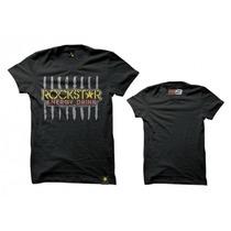 Camiseta Oficial Jorge Lorenzo Rockstar - Pronta Entrega