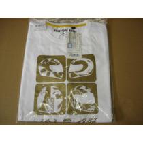 Camiseta Valentino Rossi Casco 4 Branca Importada