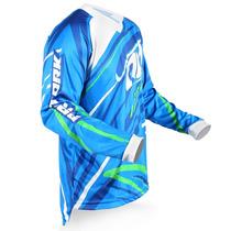 Camisa Pro Tork Insane 3 Motocross Blue Trilha Esportiva