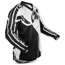 Camiseta Preta E Branca Connect Solid Pro Tork Motocross