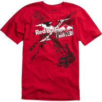 Camiseta Fox Red Bull Exposed Vermelha - S