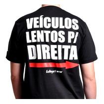 Camiseta Motociclista Masculina Kallegari Tamanho G