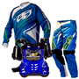 Kit Motocross Pro Tork Infantil Insane 3 Azul Kids