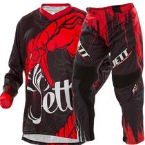 Conjunto Calça + Camisa Motocross Pro Tork Jett Veneno