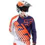 Camisa Fox 360 Ktm Ii Roxo M(m) Rs1