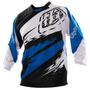 Camisa Bike Troy Lee Ruckus Thunder Blue