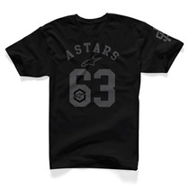Camiseta Alpinestar Dark Star Preto G(l) Rs1