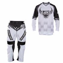 Conjunto Calça E Camisa Pro Tork Insane 5 Motocross Trilha