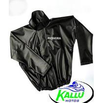 Capa De Chuva Conjunto Pioneira Pvc Tm Gg Kallu Motos