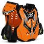 Colete Proteçao Pro Tork 788 Trilha Motocross Enduro Laranja