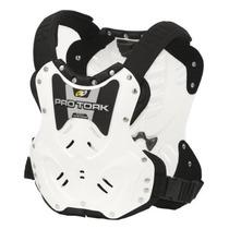Colete Motocross Armor Branco Pro Tork Proteção + Brinde