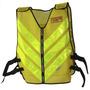 Colete Refletivo Amarelo Para Moto Boy Moto Taxi Pro Tork