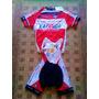 Uniformes De Ciclismo! Katusha Tamanho M! Camisa + Bretele