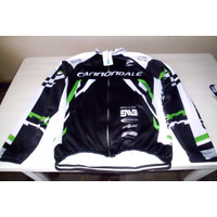 Blusa Camisa Ciclista Cannondale Tam. 4 X L 100% Polyester