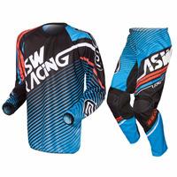Conjunto Kit Calça + Camisa Asw Image Starway Motocross G Az