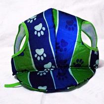 Acessório Pet Boné Verde E Azul Tamanho Gg Porte Grande ;)
