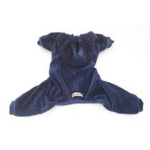Roupa De Inverno Cães Cachorro E Gatos Macacão Pijama