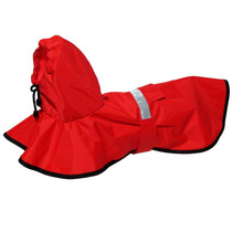 Capa De Chuva Vermelha Futon Dog & Home - Médio