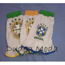Vestido Do Brasil Gola Verde Z - Copa Do Mundo 2014 - Num. 4