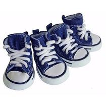 Calçado,tênis, Bota Para Cães Modelo All Star N°1,2,3,4 Ou 5