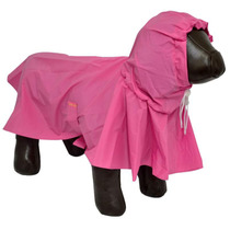 Capa De Chuva P Cães Cachorros Impermeável Tamanho Pp Rosa