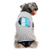 Camiseta Coração Cinza Gutti Pet - Pequeno - Meu Amigo Pet