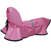 Capa De Chuva Rosa Futon Dog & Home - Pequeno