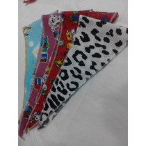 Kit De Bandanas P/ Pet Shop - Cães E Gatos