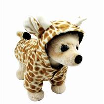 Roupa Fantasia Para Cachorro Girafa Raças Pequenas Pet Lord