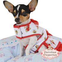 Roupas Pra Cachorro - Vestido Ursinho (g) - Loja