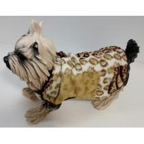 Roupa De Inverno Para Cães Bbb Luxo Cachorro Gatos Frio