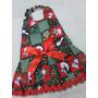 Vestido Pet De Natal Cachorra Tam 4 (35dc37) Oferta Natal