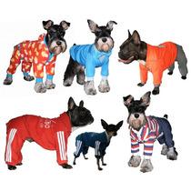 Roupas Para Cachorro De Cães Pijama Macacão Agasalho Smoking