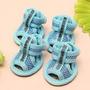 Promoção!!!calçados Verão Velcro Malha - Tam 5 - Cor Azul