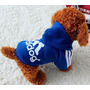 Roupa Para Cachorro Moleton Adidog Tamanho P - Pet Shop