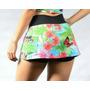 Short-saia Suplex Fitness Estampada O Melhor Tecido Oferta