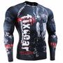 Camisa Compressão Rash Guard Fixgear Mma Bjj Ufc Tam: L