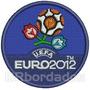 Tpc117 Uefa Euro Cup 2012 Campeonato Tag Patch Bordado 7,5cm
