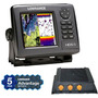 Lowrance Hds-5 Multifunction Fishfinder Chartplotters