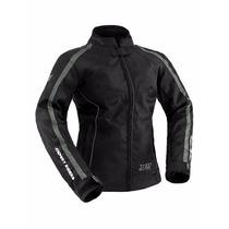 Jaqueta Moto First Feminina Proteção Semi-impermeável X11