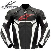 Jaqueta Em Couro Masculina Celer P/ Moto Alpinestars Oficial