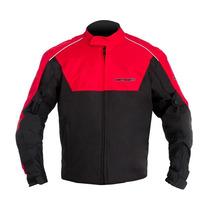 Jaqueta Motosky Motoqueiro Frio Impermeável - Vermelha G / L
