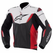 Jaqueta Motoqueiro Alpinestars Gp-r Masculina Preta Vermelha